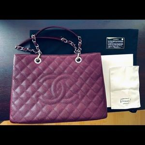 Chanel Deep Burgundy GST